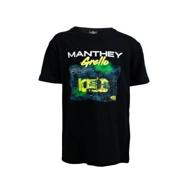 Manthey Racing Official - Manthey Racing T-Shirt Kids - T-Shirt Pitstop Grello 911